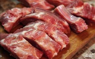 Мясное ассорти в духовке - фото шаг 2