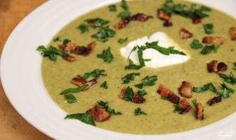 Грибной суп из шампиньонов со сливками - фото шаг 5