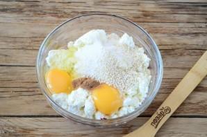 Свекольные сырники в духовке - фото шаг 5