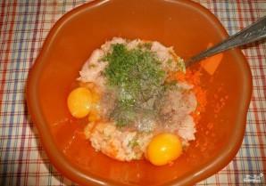 Куриные котлеты с морковью - фото шаг 4