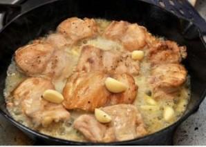 Курица с лимоном и оливками - фото шаг 4