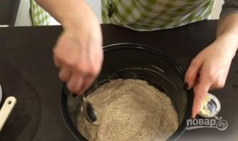 Шоколадный пирог с белковым кремом и апельсинами - фото шаг 4