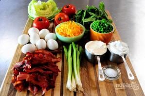 Очень вкусный слоеный салатик - фото шаг 1