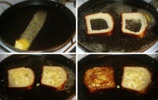 Бутерброды на сковороде - фото шаг 3