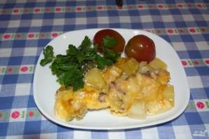 Запеканка с брокколи и курицей - фото шаг 7