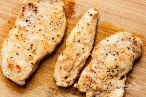 Рецепт пасты с курицей - фото шаг 1