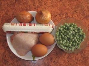 Салат в омлете - фото шаг 1