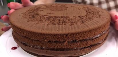 Шоколадно-ореховый торт (обалденный!) - фото шаг 5