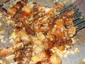 Сало на сковороде - фото шаг 4