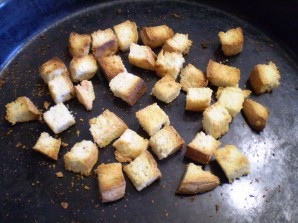 Гороховый суп с сухариками - фото шаг 5