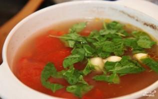 Томатный суп с мясом - фото шаг 9
