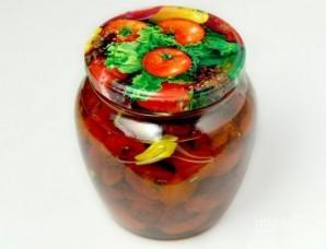 Вяленые томаты в масле - фото шаг 5