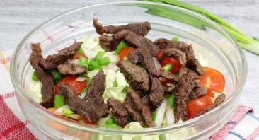 Салат из мяса говядины - фото шаг 6