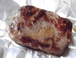 Сочный стейк из свинины - фото шаг 2