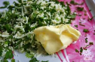 Багет с сыром и чесноком - фото шаг 4
