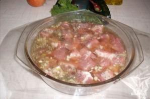 Мясо в пиве в духовке - фото шаг 3