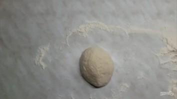 Пицца с грушей и горгонзолой (десертная) - фото шаг 2