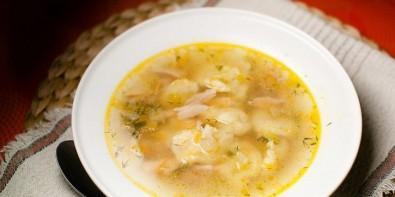 Суп из куриных сердечек с клецками - фото шаг 10
