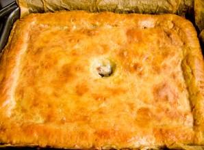 Пирог с бараниной - фото шаг 10