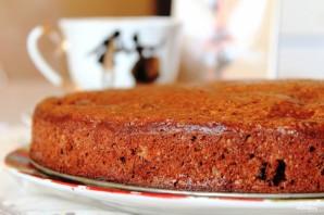 Шоколадный пирог с вишней - фото шаг 8