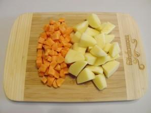 Печень с овощами в духовке - фото шаг 3