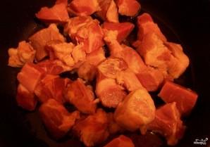 Картошка со свининой в сметане - фото шаг 2