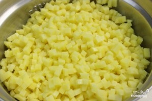 Перец фаршированный картошкой - фото шаг 2