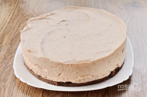 Диетический яблочный торт без выпечки - фото шаг 6