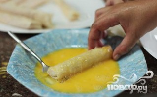 Сырные палочки с курицей - фото шаг 4