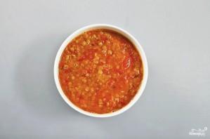 Суп с чечевицей вегетарианский - фото шаг 4