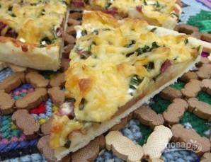 Деревенская пицца с картошкой - фото шаг 6