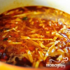 Итальянский суп с фрикадельками - фото шаг 16