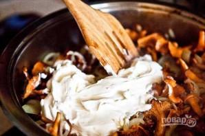 Картофель отварной с грибами - фото шаг 7