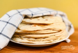 Лепешки на сухой сковородке - фото шаг 6