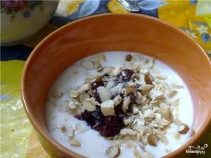 Овсянка с кефиром на завтрак - фото шаг 2