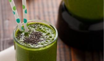 Зеленый коктейль с горохом - фото шаг 4