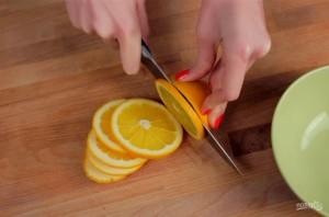 Апельсины в шоколаде - фото шаг 1