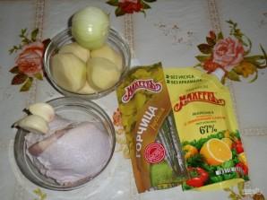 Запеченные куриные ножки с картофелем - фото шаг 1