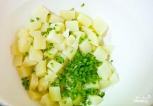 Картофельный салат с курочкой - фото шаг 8