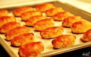 Пирожки со шпиком - фото шаг 16