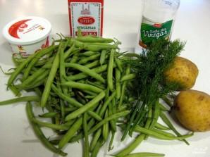 Суп из стручков фасоли - фото шаг 1