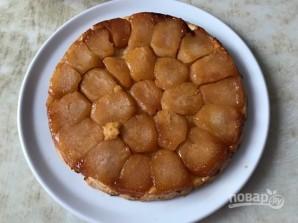 Французский яблочный тарт-перевертыш - фото шаг 6