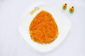 """Салат """"Яйцо пасхальное"""" - фото шаг 4"""