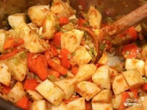 Овощной суп с перловкой - фото шаг 2
