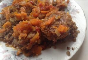 Фрикадельки с овощным рагу - фото шаг 5