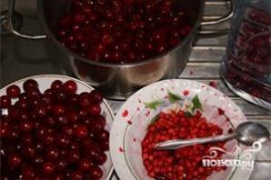 Варенье из вишни без косточек - фото шаг 1