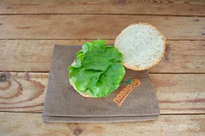 "Бургер ""Овощные прятки"" - фото шаг 7"