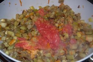 Рагу из баклажанов и помидоров - фото шаг 4