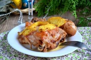 Курица, запеченная с ананасами - фото шаг 10
