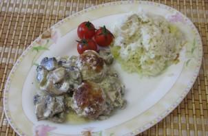 Фрикадельки с грибами - фото шаг 5